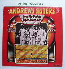 ANDREWS SISTERS - Beat Me Daddy Eight To The Bar - Ex Con LP Record MFP 50556