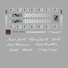 Peugeot PX10, PY10 Bicycle Stickers - Decals - Transfers - n.0363