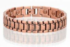 COPPER MAGNETIC LINK BRACELET mens womens STYLE#LJ  jewelry health Energy