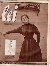 rivista LEI ANNO 1953 NUMERO 1