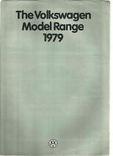 VOLKSWAGEN VW 1979 RANGE BROCHURE POLO DERBY SCIROCCO PASSAT FOLD OUT STYLE