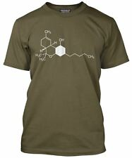 THC Cannabis Weed Chemical Symbol - Science Geeky Loose Fit T-Shirt
