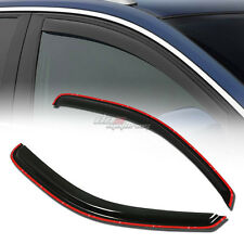 FOR 97-04 DODGE DAKOTA SMOKE TINT WINDOW VISOR SHADE/VENT WIND/RAIN DEFLECTOR