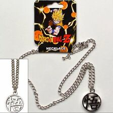 Dragonball Z Goku Symbol Metal Dbz Pendant Necklace Costume Cosplay LICENSED