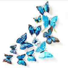 12pcs 3D Butterfly Design Decal Art Wall Stickers Room Home Decor Decorations