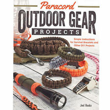 Paracord Outdoor Gear Projects Book