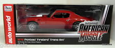 ERTL 1/18 - AMM998 1972 PONTIAC FIREBIRD TRANS-AM RED DIECAST MODEL CAR
