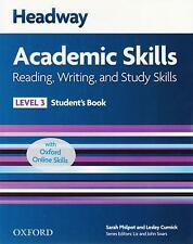 HEADWAY Academic Skills 3 Reading Writing & Study STUDENT'S BOOK w ONLINE @NEW@