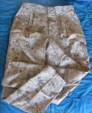 NWT USMC FR MDST Desert Digital Frog Pants Trousers, FIRE RESISTANT, LARGE LONG