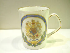 British Royalty Memorabilia Prince Diana & Prince Charles Wedding Coffee Cup NOS