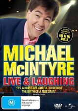 Michael McIntyre: Live and Laughing NEW R4 DVD