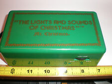 Vintage Mr. Christmas The Lights and Sounds of Christmas Music Box Works Great