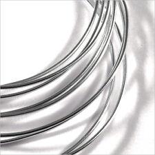 Fil en Aluminium 1mm – 2 Mètres Argenté