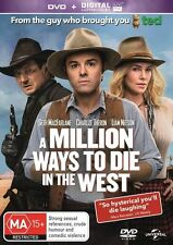A Million Ways To Die In The West (DVD, 2014) regions 2,4,5