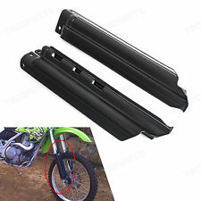 Black Front Fork Guard Slider Protector For Kawasaki KLX650 KLX250R 1994-1996