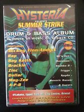 Hysteria volume 28 Drum n Bass 6x CD pack. Rare classic volume never been played