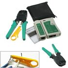 RJ45 RJ11 RJ12 CAT5 LAN Network Tool Kit Cable Tester Crimper Plier Connector