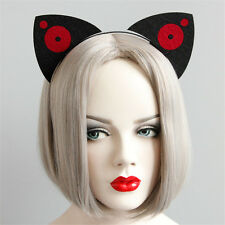 Cat Ears Tiara Headband Animal Halloween Hen Party Fancy Dress Costume Accessory