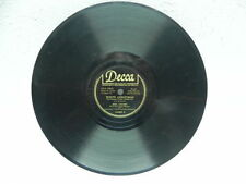"""White Christmas/Let's Start The New year right Bing Crosby 10"""" 78  Decca V"""