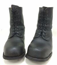 Schwedische Armeestiefel Lederstiefel BW Stiefel schwarz Vintage Tretorn Gr. 43