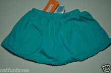 Gymboree toddler girl skorts skirt shorts size 3 3T NWT green
