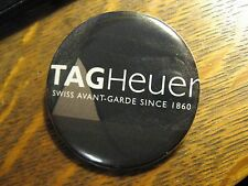 Tag Heuer Swiss Avant Garde Wrist Watch Advertisement Pocket Lipstick Mirror