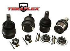 TeraFlex HD Ball Joint Upper & Lower Kit - Set of 4 - No Knurls 07-16 Jeep JK