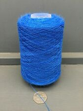 200G LUMINOSO MEDIO COLORE BLU 2/28NM PETTINATO DI LANA LANA FILO YTYF BLU