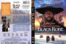 Black Robe ~ New DVD 1998 ~ Lothaire Bluteau, Sandrine Holt, Aden Young (1991)