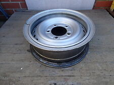 TOYOTA LANDCRUISER 5 STUD STEEL WHEEL 78 79 105 SERIES SPLIT RIM 16 x 5.5