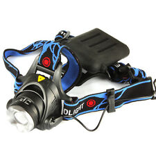 1600Lm  CREE XM-L T6 LED Zoomable Adjust Focus LED Headlamp Bicycle Headlight