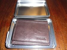 Fossil Tri-Fold Wallet - NEW IN BOX