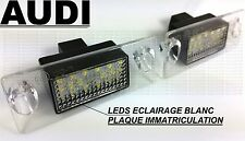 LEDS LED LICENSE PLATE LIGHT WHITE XENON TRUNK REAR  AUDI A3 8L 96-2000 S S3