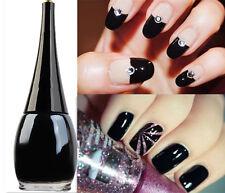 16ml Black Color Base Coat Nail Polish Nail Art Enamel Paint Manicure Varnish