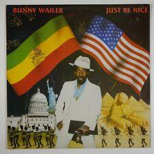 """Bunny Wailer """"Just Be Nice"""" Reggae LP Solomonic"""