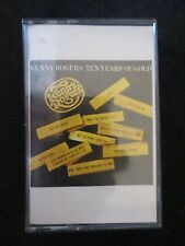 10 Years of Gold by Kenny Rogers (Cassette, Oct-1995, Capitol/EMI Records)