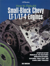 Rebuild Small Block Chevy LT-1 / LT-4 Engine Book