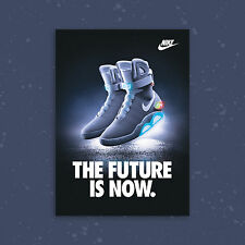 Nike Mag A2 Limited Edition Sneaker Poster Art Print Air Max, Back To The Future
