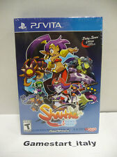 SHANTAE 1/2 HALF GENIE HERO RISKY BEATS EDITION PS VITA NUOVO NEW SEALED RARE