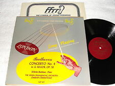 "Krauss/Backhaus/Vienna ""Beethoven: Concerto #4"" 1956 LP,VG+,London LLP.417,1B/1B"