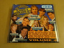 3-CD BOX / DE GROOTSTE VLAAMSE EN NEDERLANDSE HITS ALLER TIJDEN - VOLUME 2