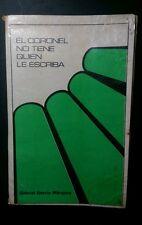 El Coronel no Tiene Quien le Escriba Por Gabriel Garcia Marquez 1957