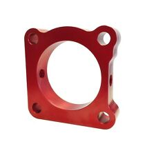 Torque Solution Throttle Body Spacer Red Mitsubishi EVO Evolution 7 8 9 01-06