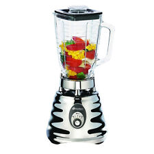 Oster 4655 Chrome 3 Speed Blender with Glass Jar 600W 220V 240V  Export Only