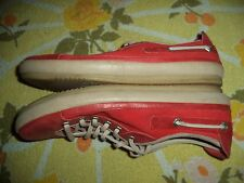 TIMBERLAND EARTHKEEPER RED SHOES WOMENS SIZE 8 M
