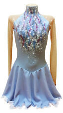 competition figure ice skating dress baton twirling costume