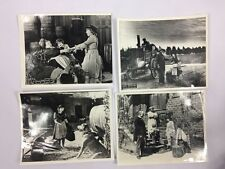 LOT OF 4 RARE MARY PICKFORD THROUGH THE BACK DOOR 1921 8x10 PHOTOS PICTURES