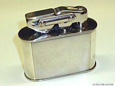 KW (KARL WIEDEN) SEMI-AUTOMATIC TABLE LIGHTER W. 925 SILVER CASE - 1930 - GERMAN