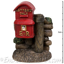 Vivid Arts Miniature World /New Fairy Garden/Mini Traditional Red Post Box