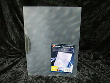 2 x Rexel Report File ColourClip Close 17450 Grey Purple A4 30 sheet capacity